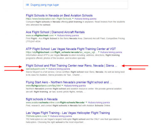 flight-school-nevada-google-search